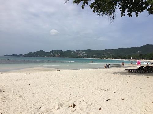 サムイ島 8月17日曇りでもチャウエンビーチ&日々雑感
