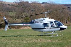 G-OCST Agusta-Bell 206B-3 Jet Ranger III [8694] (Lift West Ltd) Chelte