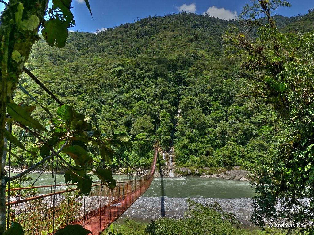 Bridge over Rio Pastaza