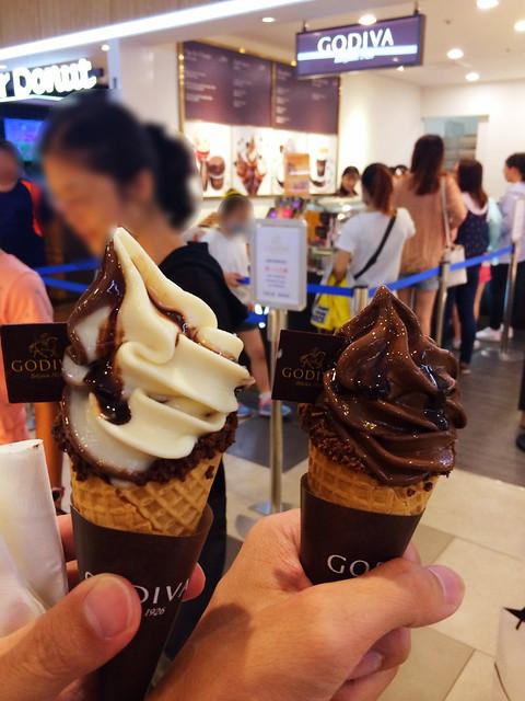 Godiva 霜淇淋