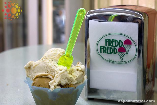 as melhores sorveterias de Madri: Heladería Freddo Freddo, Madrid