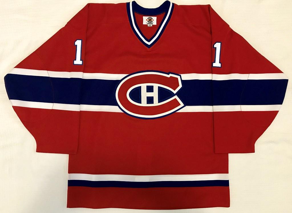 1997-98 Saku Koivu Montreal Canadiens Away Jersey Front