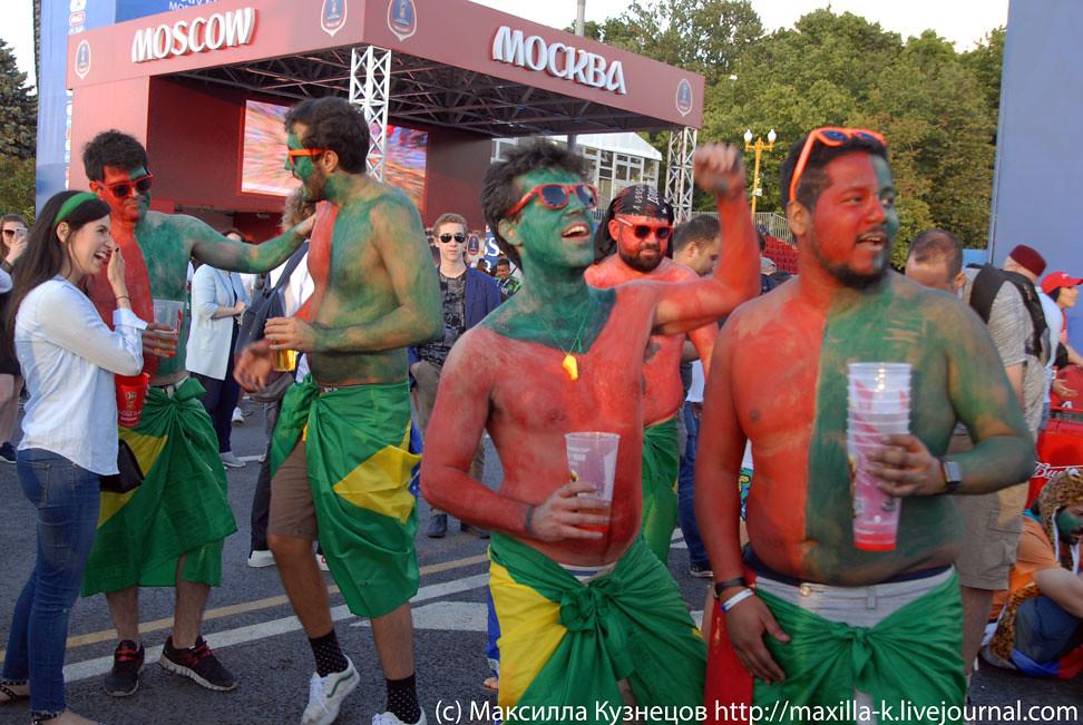Portuguese fans