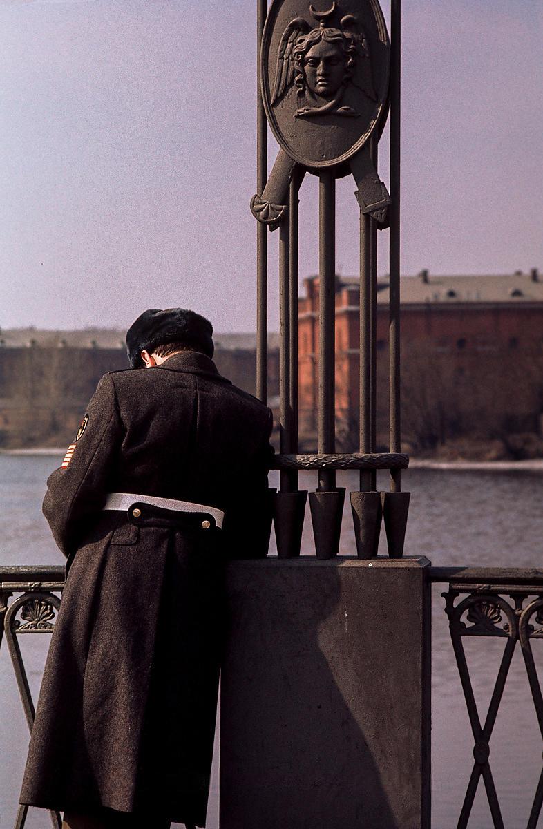 Солдат на Иоанновском мосту