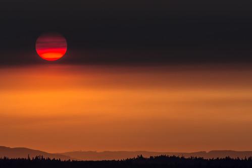sunset washington pugetsound