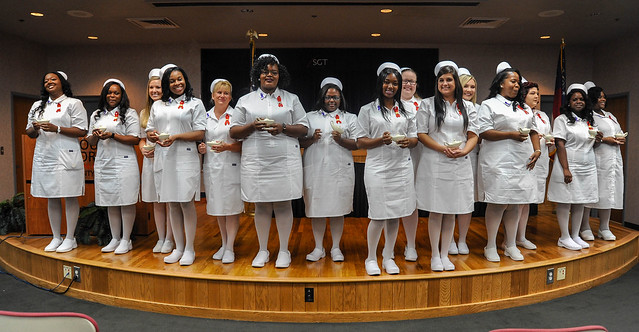 Crisp County Center Nurse Pinning ceremony, Summer 2018