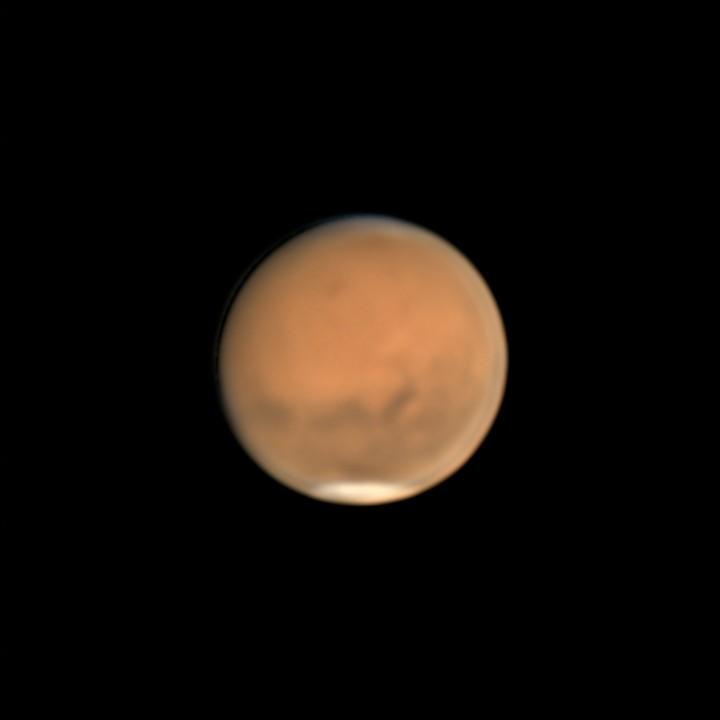 火星 (2018/8/14 23:39-23:52) (2000/5000 x4 de-rotation (23:46))