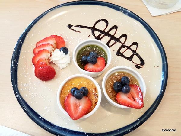 Taster Board: Crème Brûlée