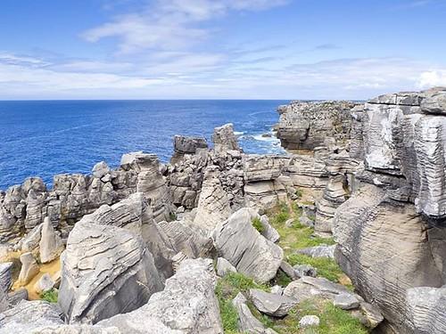 Paisajes imposibles en Cabo Carvoeiro. #cabocarvoeiro #peniche #portugal #loveportugal #stones #ocean #olympus #oceanoatlantico