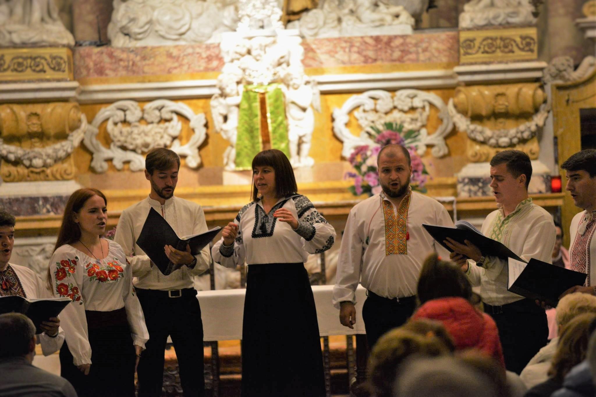Concerto Corale ucraina ottobre 2016
