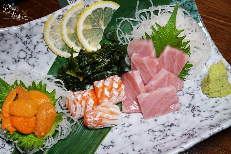 tai syou sashimi