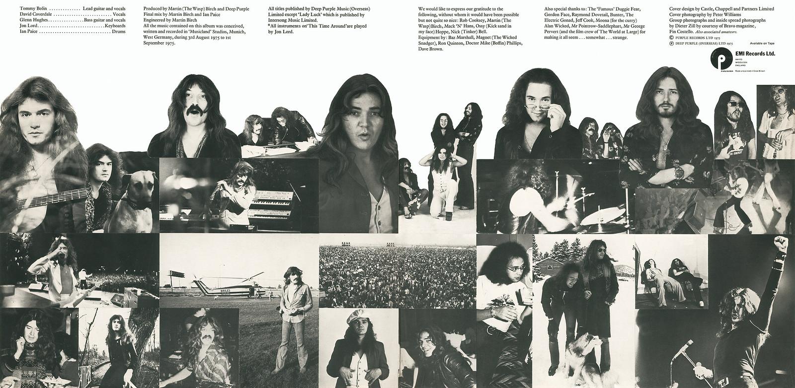 Deep Purple - Come Taste The Band - UK LP Gatefold