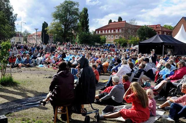 Publiken i Vasaparken
