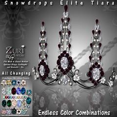 Zuri's Snowdrops Elite Tiara - All ChangingPIC