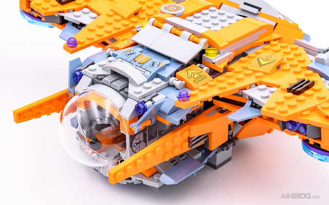 REVIEW LEGO Marvel 76107 Thanos Ultimate Battle 17