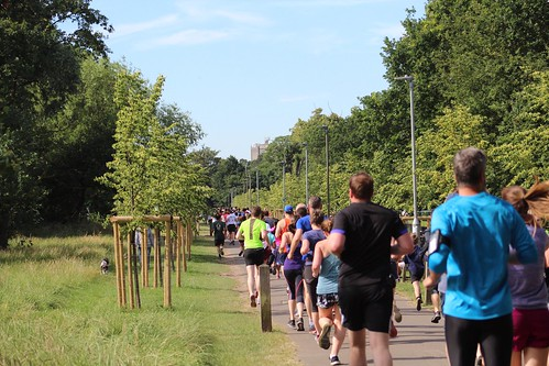 Tooting Common Park Run 122