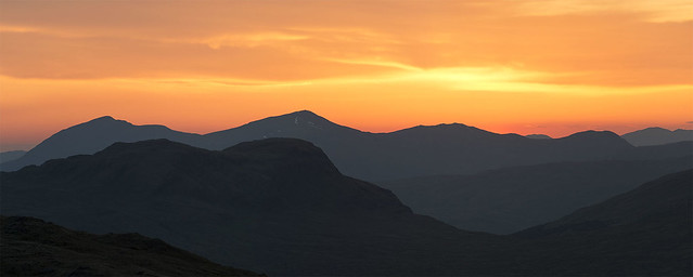 Cruachan sunset