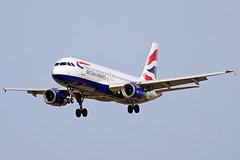 G-GATN A320-232 British Barcelona-El Prat