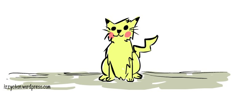 thunder cat pikachu color