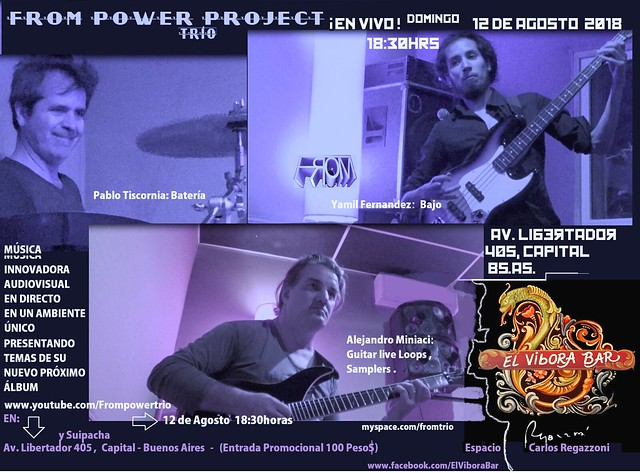 FROM POWER PROJECT EN VIVO AGOSTO 2018