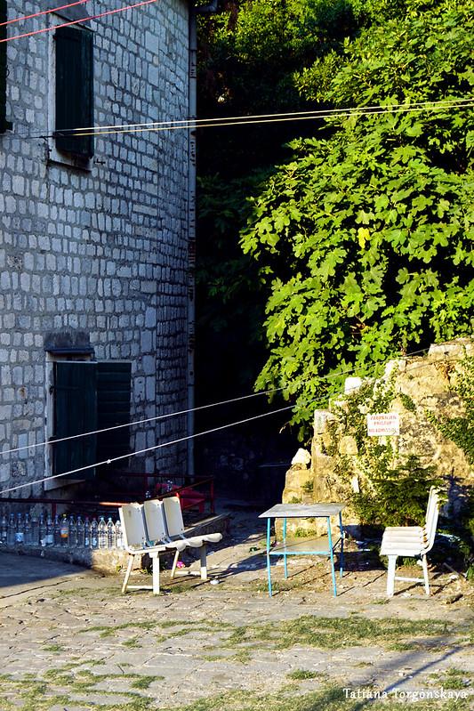 На бастионе Гурдич, вид в сторону прохода на крепостные стены
