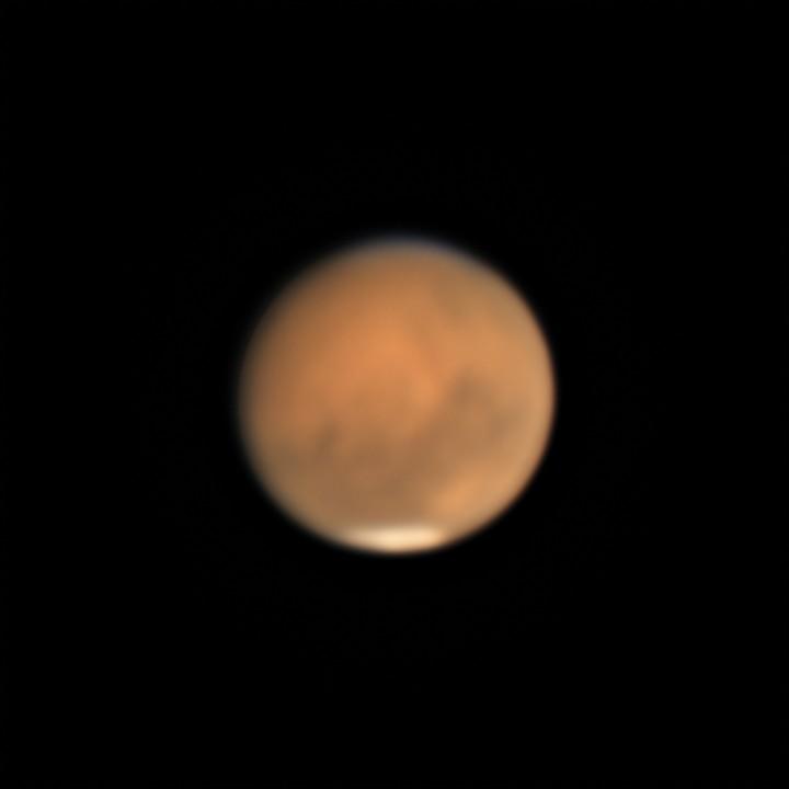 火星 (2018/8/14 20:38-20:51) (2000/5000 x4 de-rotation (20:44))