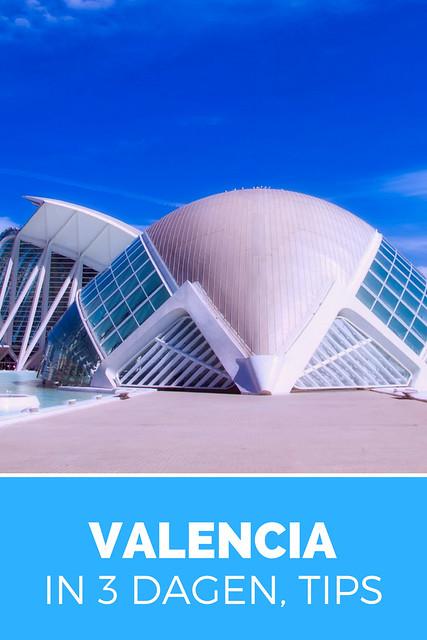 3 dagen in Valencia, tips. Dit kun je allemaal doen in 3 dagen in Valencia | Mooistestedentrips.nl