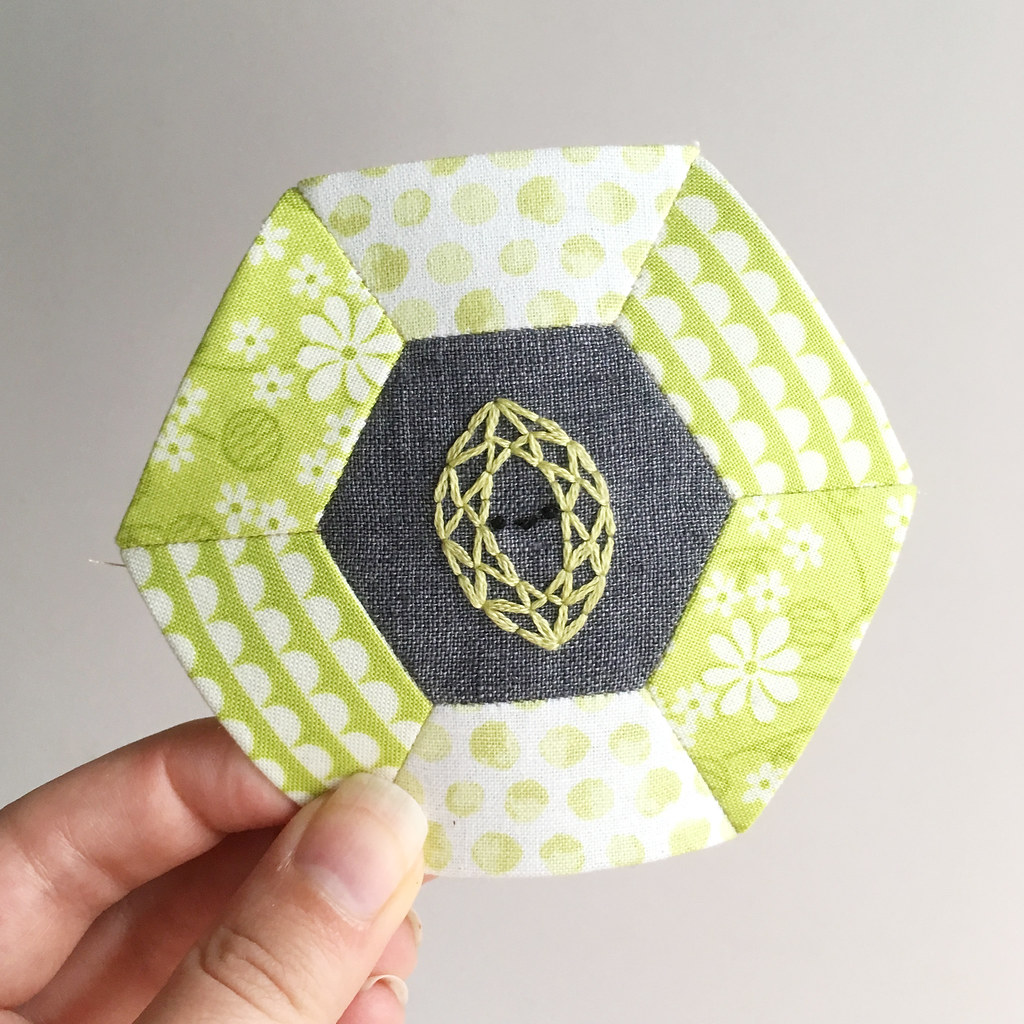 pattern // a noble marquise peridot for august