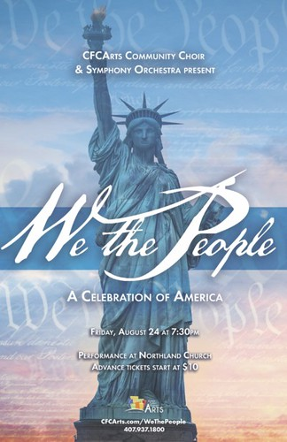 'A Celebration of America'  Featuring CFCArts Community Choir & Orchestra
