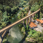 Old bridge in Portugal
