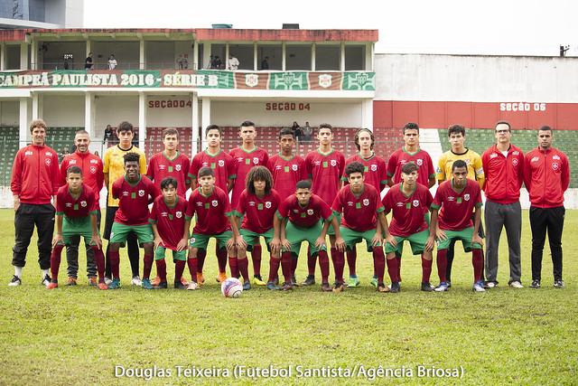 Portuguesa Santista 2 x 3 União Mogi, jogo válido pelo Campeonato Paulista Sub-15 de 2018, disputado no dia 19 de agosto, no estádio Ulrico Mursa