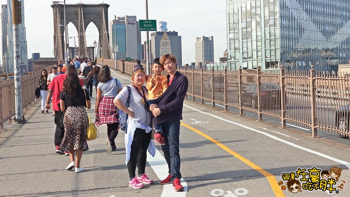 美國紐約-布魯克林大橋-48