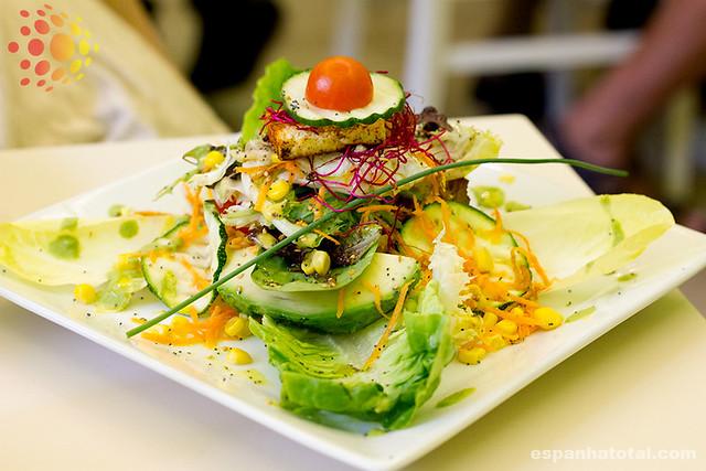 os melhores restaurantes vegetarianos em Madri: Yerbabuena