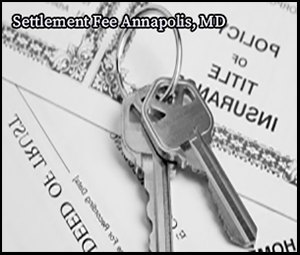 settlement fee in annapolis