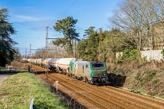 10 février 2018 BB 27010  Train 56720 Hendaye -> Bobigny Vayres (33) - Photo of Lugon-et-l'Île-du-Carnay