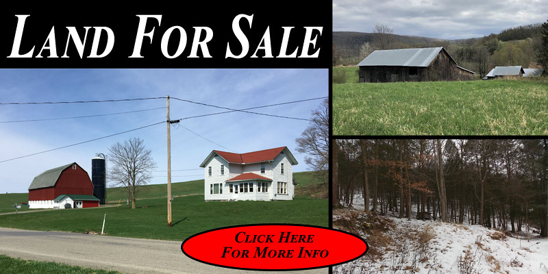 Farm for Sale in Mansfield Pennsylvania