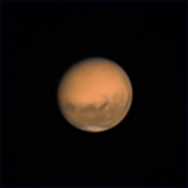 火星 (2018/8/14 23:39-23:52) (2000/5000 x4 de-rotation (23:46) LRGB(IR+RGB))