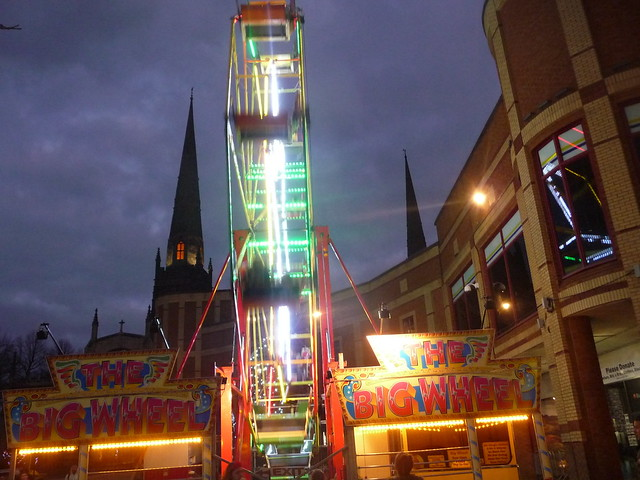 Big Wheel Broadgate Coventry, Panasonic DMC-TZ4