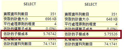 [SQL] 避免 UNION-執行計畫成本比較