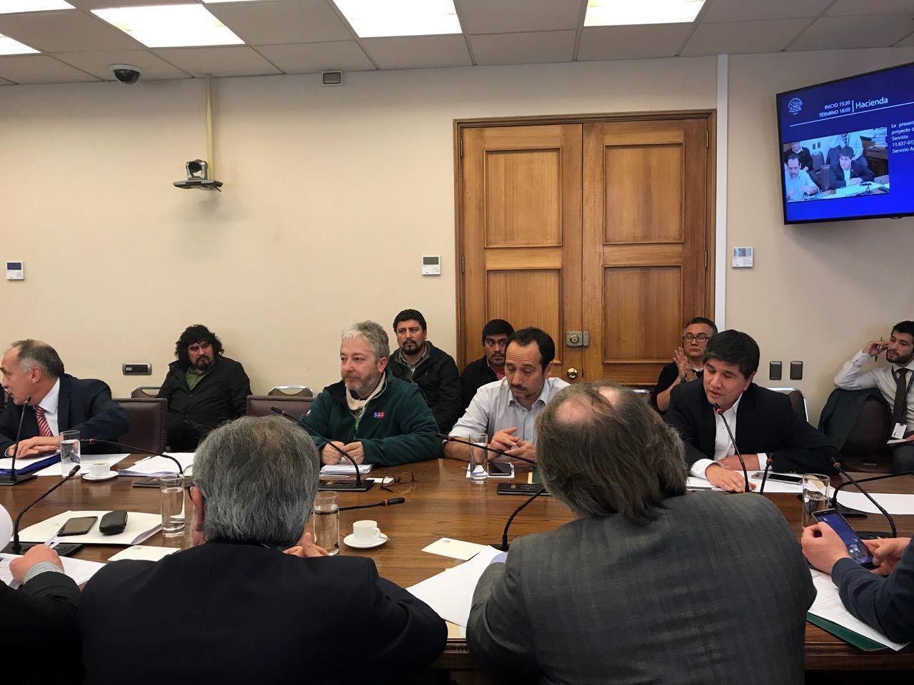 AFSAG expone nuevamente en Comisión de Hacienda por Proyecto SAG - 31 Julio 2018
