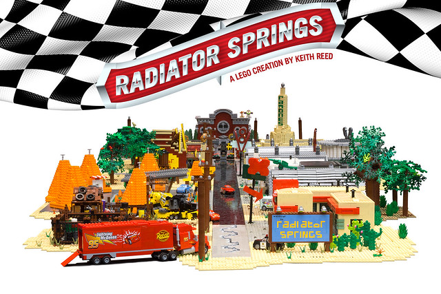 Radiator Springs Cover