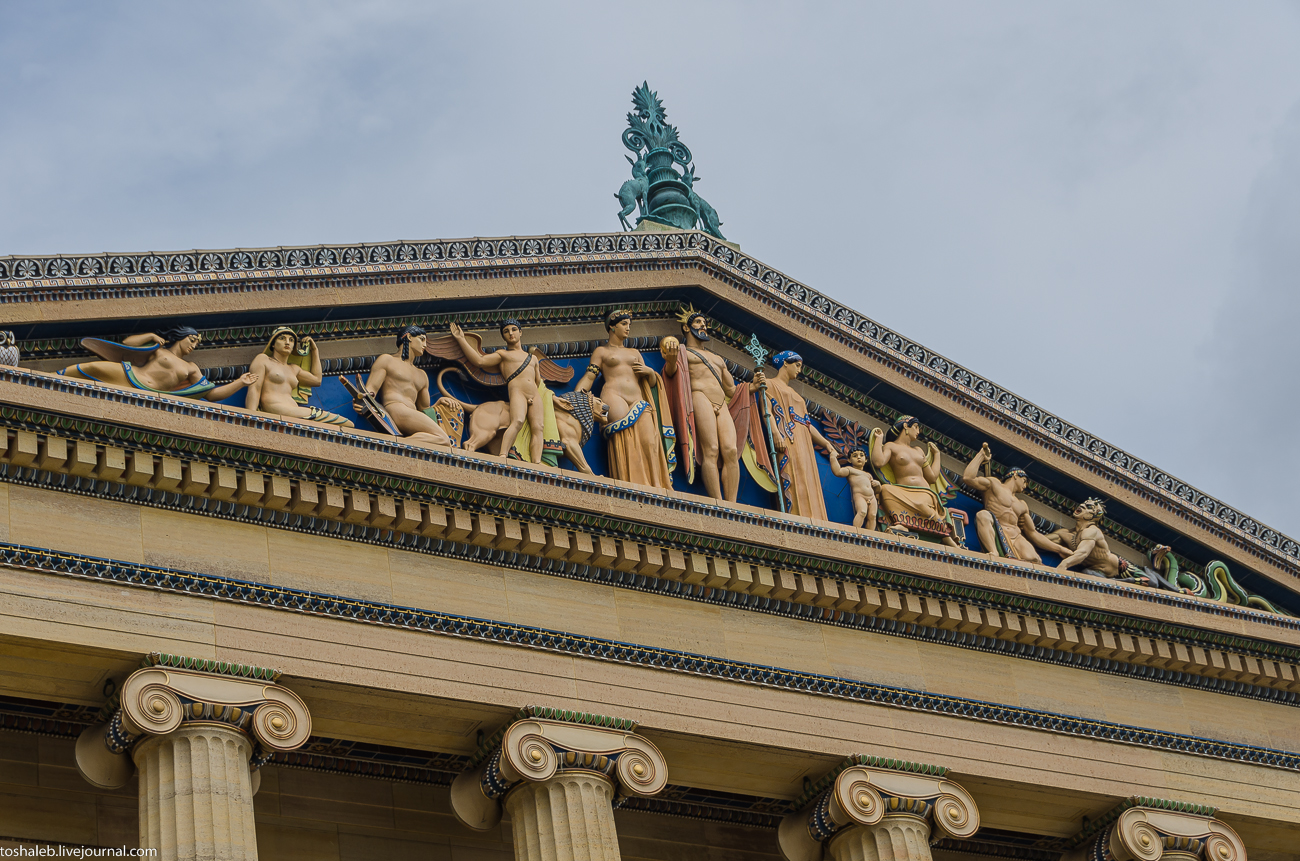 Филадельфия_фасад музея-24