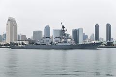 USS Higgins (DDG 76) transits San Diego Bay, June 21. (U.S. Navy/MC2 Jacob I. Allison)