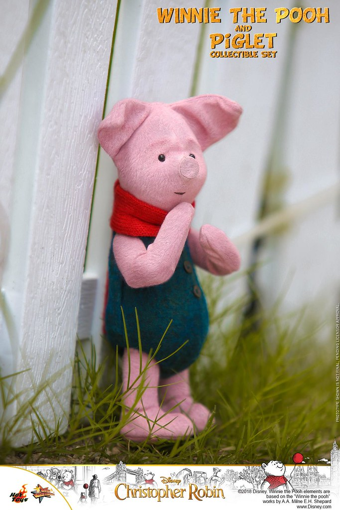 Hot Toys - MMS503 -《摯友維尼》小熊維尼和小豬套組 Winnie the Pooh and Piglet Collectible Set