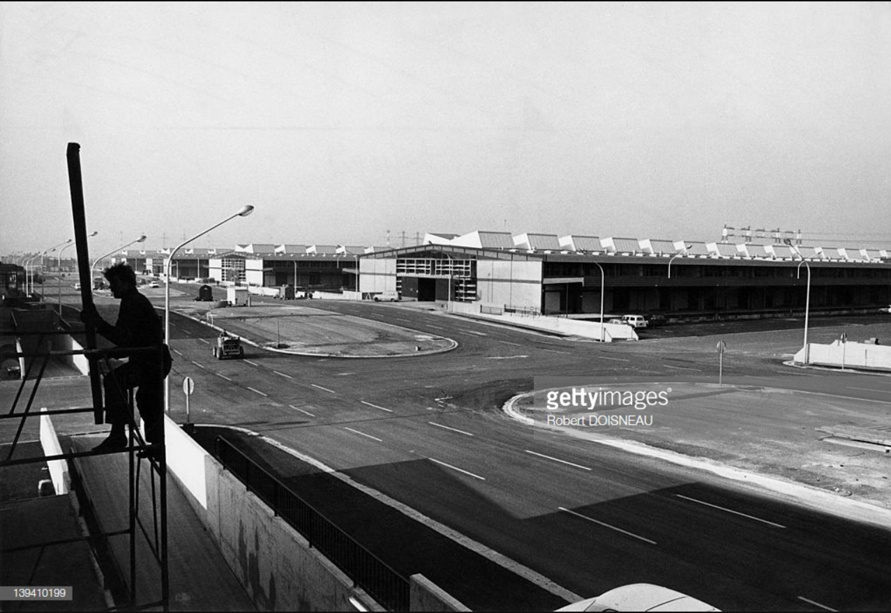1969. Новый оптовый рынок в Париже