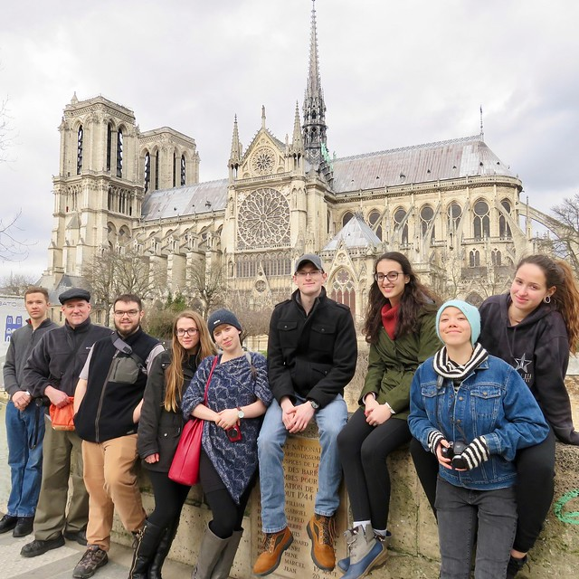 World Languages @ FLCC: France Study Abroad 2018
