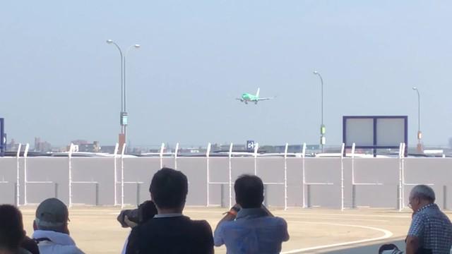 航空フェスティバル2018in愛知 FDA JA11FJ 着陸動画 IMG_0751