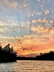 Sunset on Northwest Bay