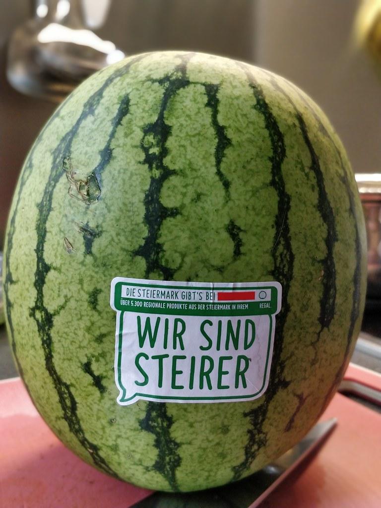 Melonen aus der Steiermark 💚  - fast kernlos!
