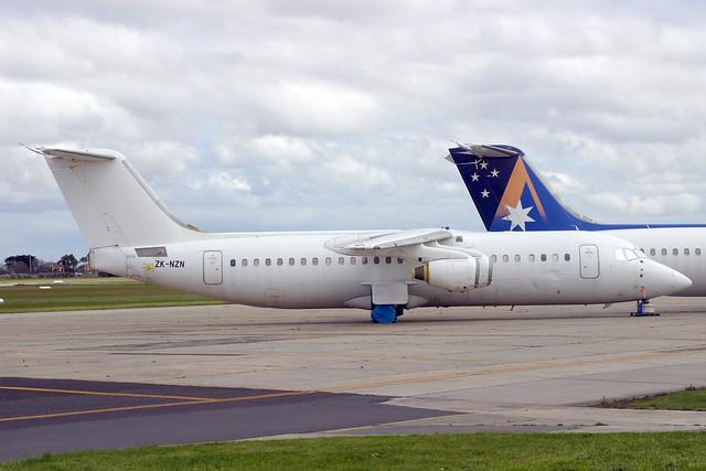 ZK-NZN British Aerospace 146-300, Canon EOS D60